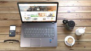 Laptop, Coffee, Finanzen, verbessern